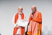M.G. Satchidananda receives Patanjali Award for 2014